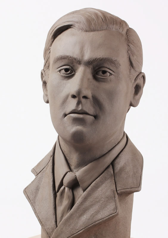 Bust of Hugh Verity Gifted to the Museum