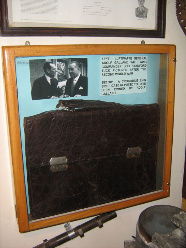 GALLAND'S BRIEFCASE