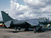 Sea Harrier FRS1 XZ459 of 899 NAS in1983