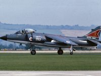 Sea Harrier FRS1 XZ459 of 800 NAS in1980