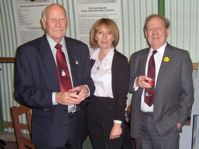 Lindsay Pickard, Raymond Hansted and Harry Irving