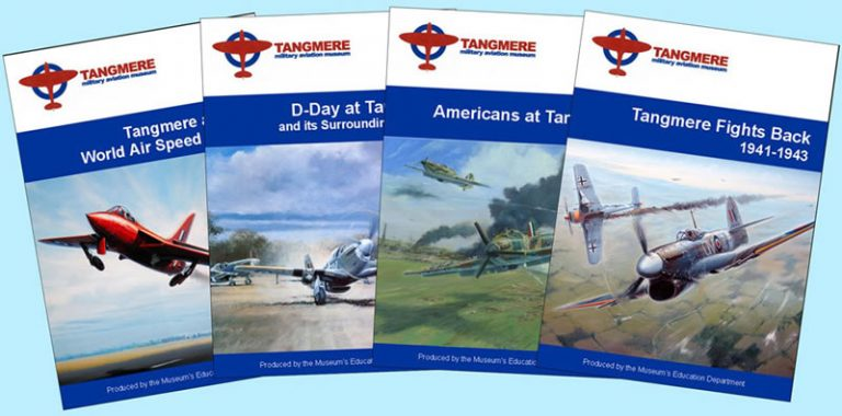 4 New Tangmere Booklets