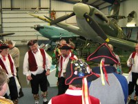 'Victory Morris' visit the Museum