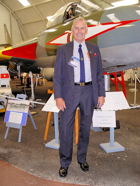 Hunter Pilots Gather at Tangmere