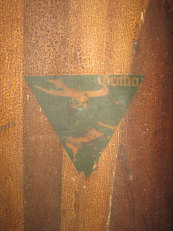 PROPELLER BLADE FROM A GOTHA FIRST WORLD WAR BOMBER