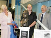 Hugh Verity Bust Unveiled