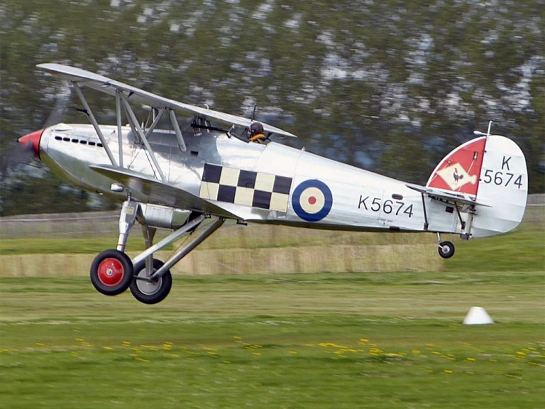 A TANGMERE HAWKER FURY FLIES AGAIN