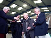 POLISH WWII RAF VETERAN CELEBRATES 100TH BIRTHDAY AT TANGMERE
