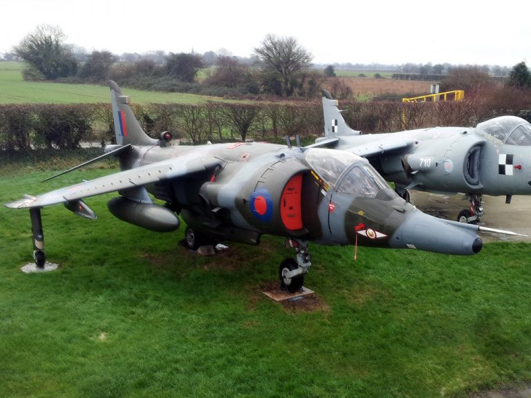 Hawker-Siddeley Harrier GR3