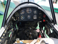 Museum's New Chipmunk Cockpit