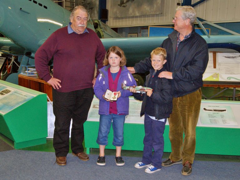 Pilot's MBE and Model Donated to the Museum