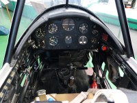 De Havilland Chipmunk Cockpit