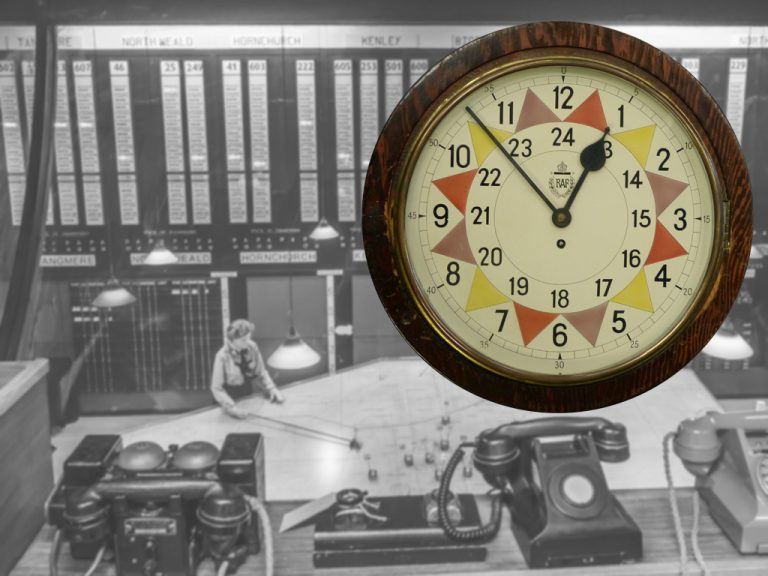 Battle of Britain Sector Clock