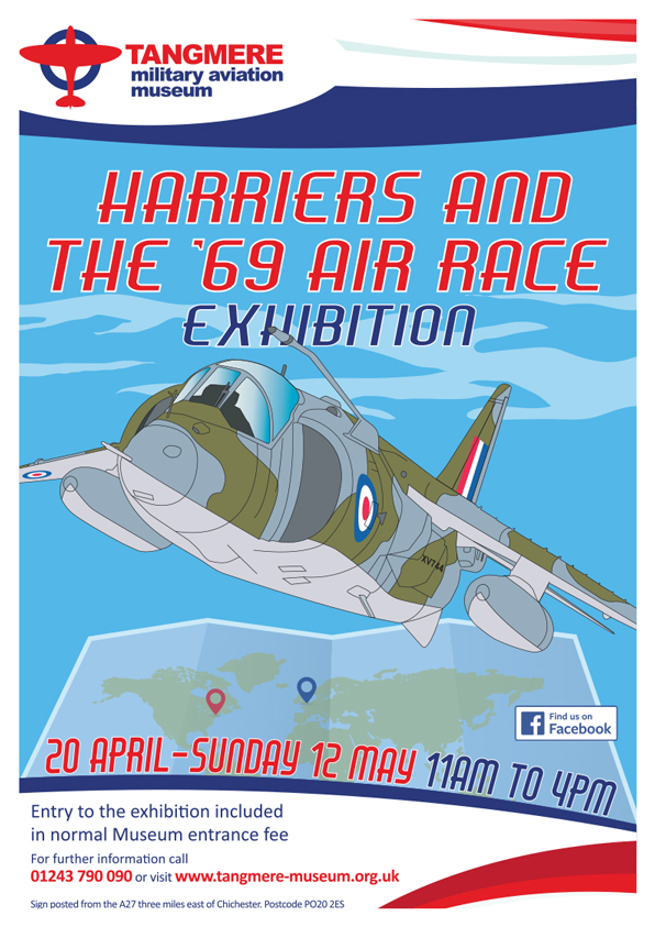 'Harriers and the  69 Air Race' Exhibition
