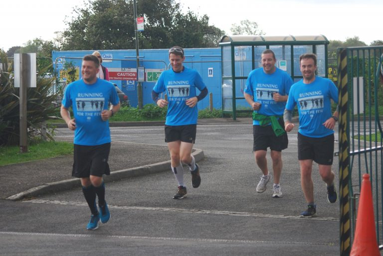 """Running For The Few"" Visits Tangmere"